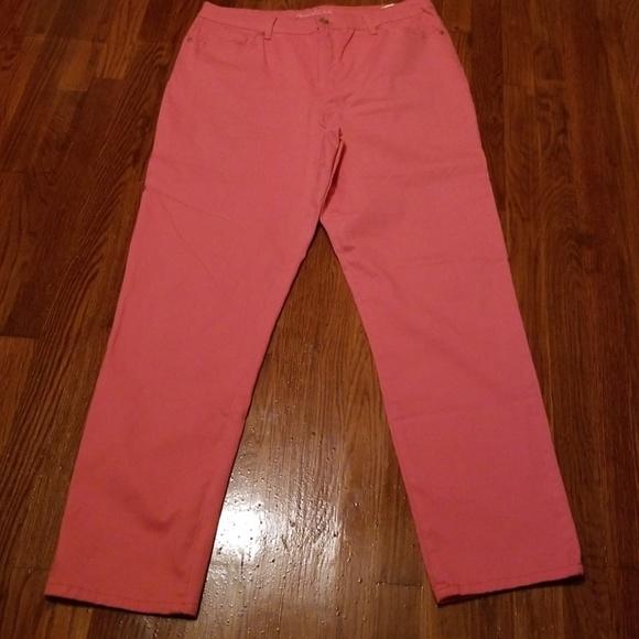 Select Size Gloria Vanderbilt Ladies/' Amanda Jeans PINK 2 Pair; WHITE MISSY